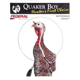"Quaker Boy Quaker Boy Turkey Patterning Targets 21""x20"" (10-Count)"