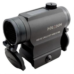 Holosun Holosun Compact Solar Red Dot Sight Black 2 MOA Dot