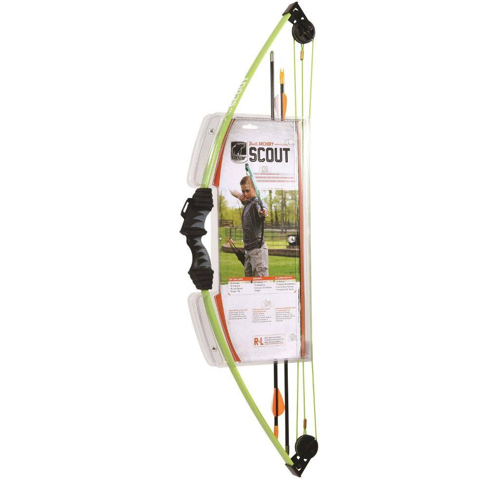 Bear Scout Compound Bow Set for Right and Left Hand