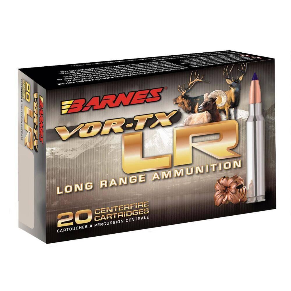 Barnes VOR-TX Long Range 6.5 Creedmoor 127 Grain LRX (20-Rounds)
