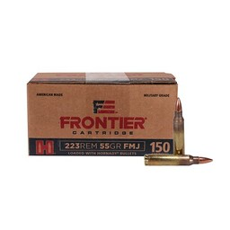 Frontier Cartridge Hornady Frontier .223 Rem. 55 Grain FMJ (150-Cartridges)