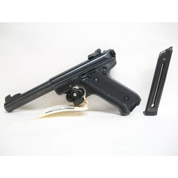 UHG-6246 USED Ruger MK-II Target .22:R w/ Two MagazinesUHG-6246 USED Ruger MK-II Target .22LR w/ Two Magazines