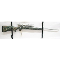 Savage Arms UG--11982 USED Savage Weather Warrior .270 WSM Stainless Barrel Camo Stock w/ Leupold Stainless VX-1 3-9x40mm
