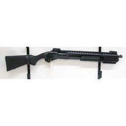 "Remington UG-11985 USED Remington 870 Tactical 12 Gauge 3"" Black Synthetic w/ Tactical Rail and Flip-Up Sights"