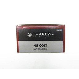 Federal Federal .45 Long Colt 225 Grain Jacketed Soft Point (50-Rounds)