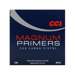 CCI CCI Magnum Large Pistol Primers 350 (1000-Count)