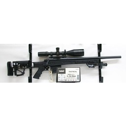 Remington UG-12103 USED Remington 700 SPS Tactical w/ Hogue Overmold Stock, MDT HS3 Tactical Stock and Harris Bipod, Bushnell Elite Tactical ERS 6-24x50mm FFP Scope