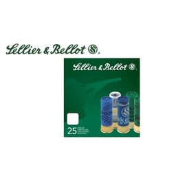 """Sellier and Bellot Sellier and Bellot Olympic Class Shooting 12 Gauge 2 3/4"""" 1oz. Load Slug (25-Rounds)"""