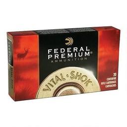 Federal Premium Federal Premium Vital-Shok Centerfire Ammunition .300 WSM 180 Grain Trophy Bonded Tip (20-Rounds)