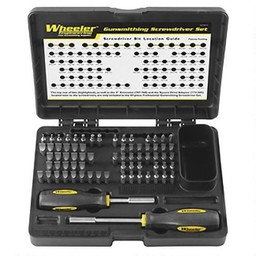 Wheeler Wheeler 72-Piece Basic Professional Gunsmithing Screwdriver Set