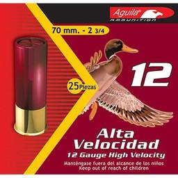 "Aguila Aguila High Velocity Shotgun Shells 12 Gauge 2 3/4"" Shot #2 1 1/4oz."