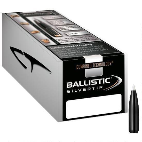 "Nosler Nosler Ballistic Silvertip .30 Caliber .308"" Spitzer 168 Grain (50-Count)"