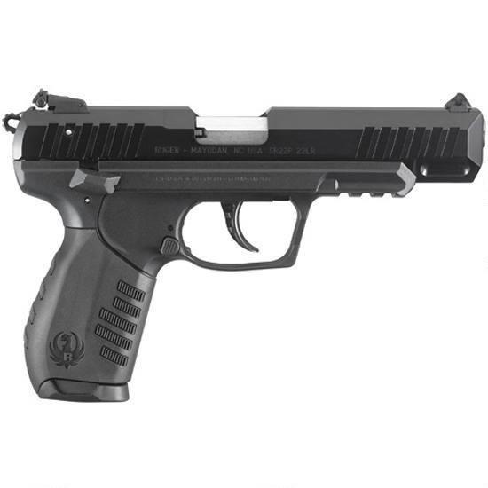 """Ruger SR22 .22LR Black 4.5"""" Barrel w/ Adjustable Sights"""