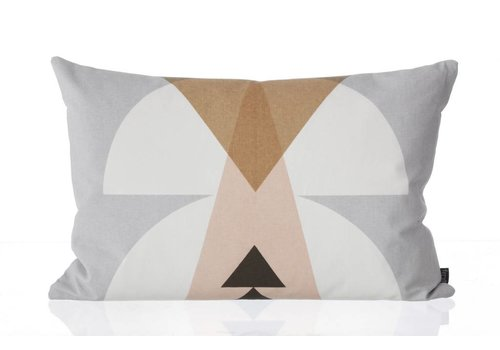 Ferm Living Inka Cushion Grey
