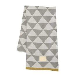 Ferm Living Remix Blanket Grey