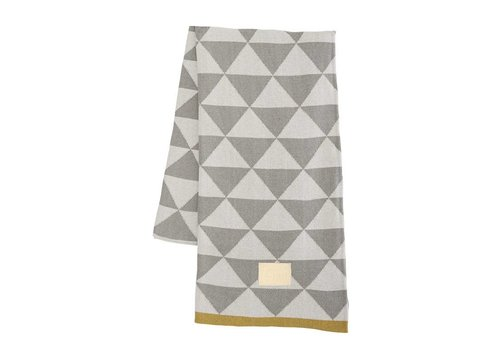 Ferm Living Remix Blanket Grey
