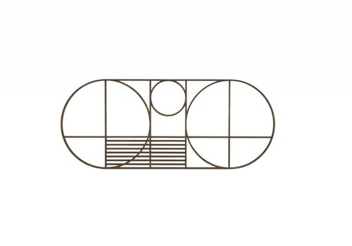 Ferm Living Outline Trivet Oval