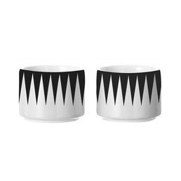 Ferm Living Egg Cup Black (set of 2)