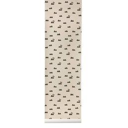 Ferm Living Rabbit Wall Paper Pink