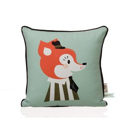 Ferm Living Mr Frank Fox Kids Pillow