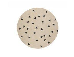 Ferm Living Triangle Round Carpet