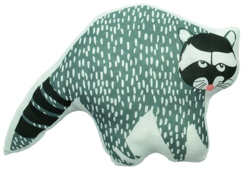 Mimilou Hector The Racoon Cushion