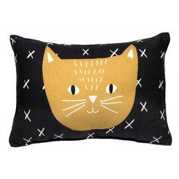 Mimilou Charlie The Cat Mini Cushion