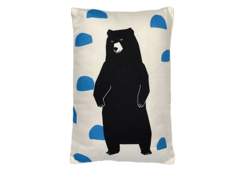 Mimilou Grizzly Bear Mini Cushion