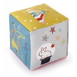 Mimilou Circus Cotton Cube