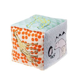 Mimilou Zoo Cotton Cube