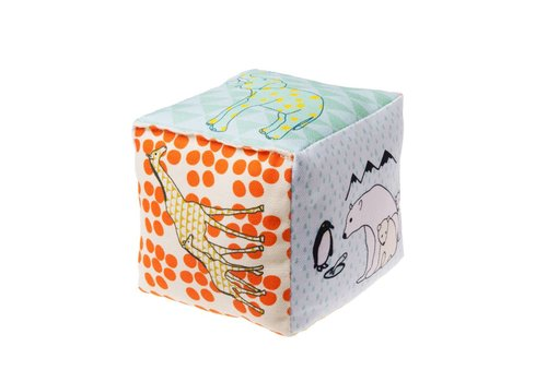 Mimilou Zoo Cotton Cube