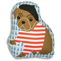 Mimilou Parisian Dog Pillow