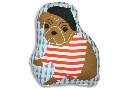 Mimilou Parisian Dog Pillow