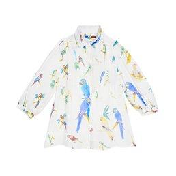 G. Kero Parrots Blouse