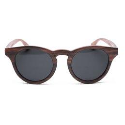 Rezin Nelson Black Wood Sunglasses