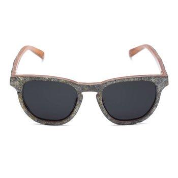 Rezin Graffite Stone Sunglasses