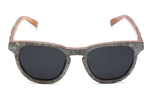 Rezin Graffite Stone Sunglasses
