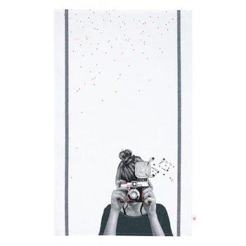 La cerise sur le gateau Olga Tea Towel
