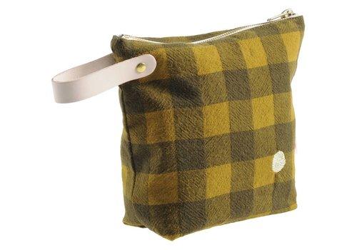 La cerise sur le gateau Vichy Small Toiletry Bag Dijon