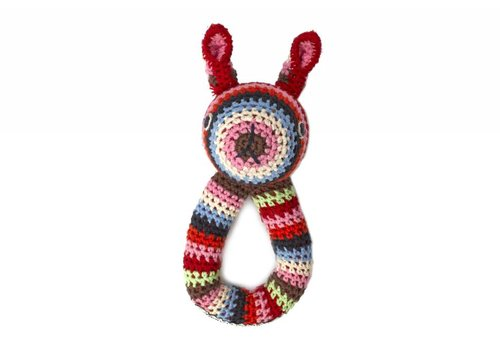 Anne Claire Petit Crochet Rabbit Baby Ring