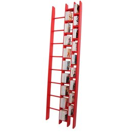 La Corbeille HOb Bookshelf Red