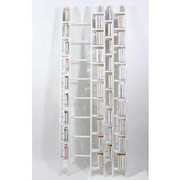 La Corbeille HO+ White bookshelf