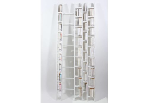 La Corbeille HO+ White bookshelf