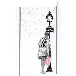 La cerise sur le gateau Marguerite Tea Towel
