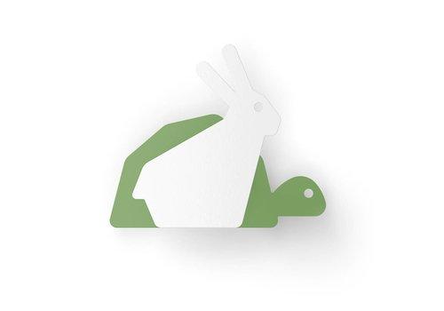 Eno Studio Wall Hooks Turtle & Hare