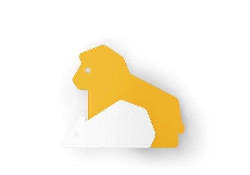 Eno Studio Wall Hooks Lion & Rat