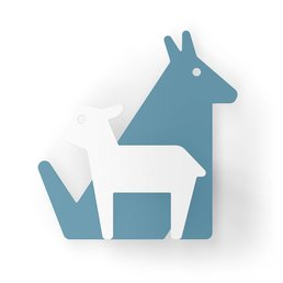 Eno Studio Wall Hooks Lamb & Wolf