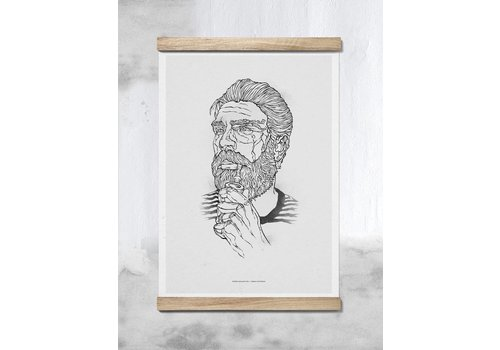 Paper Collective Bearded Man #2