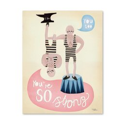 Michelle Carlslund You're So Strong Poster 50 X 70 CM