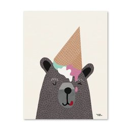 Michelle Carlslund I Heart Ice Cream 30 X 40 CM